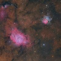 TripleteSagitario-LagoonTrifid_vdBerge_6006