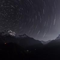 AnnapurnaStartrails_hao