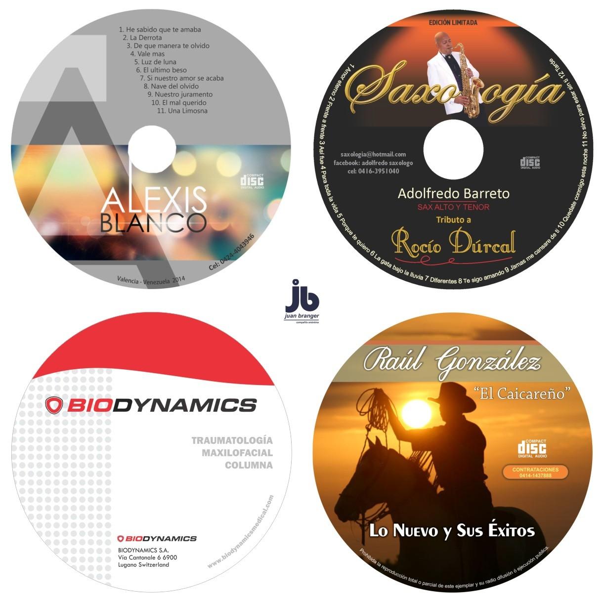 impresion de cd dvd